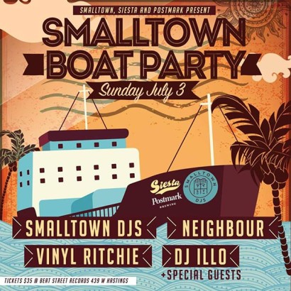 vinyl-ritchie-smalltown-boat-party