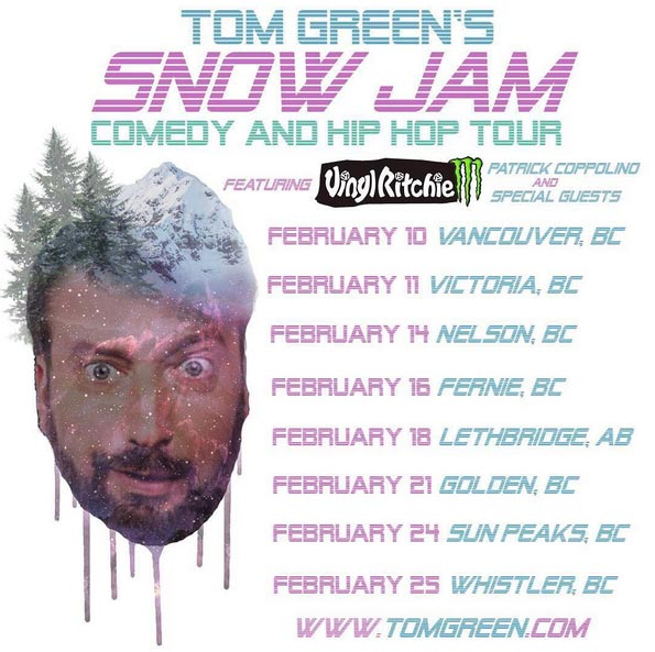 vinyl-ritchie-tom-green-tour